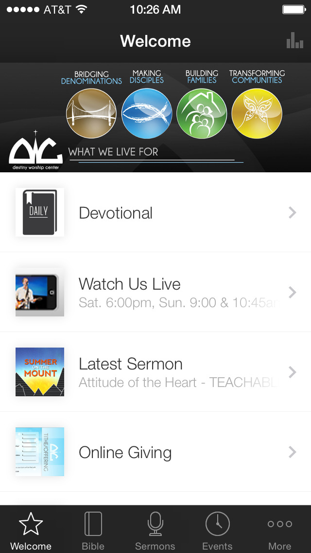 Destiny Worship Center screenshot 1
