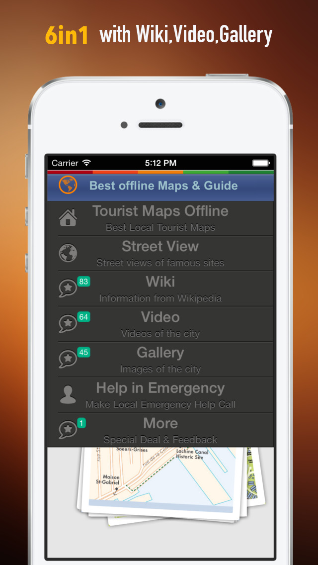 Montreal Tour Guide: Best Offline Maps with Street View and Emergency Help Info screenshot 2
