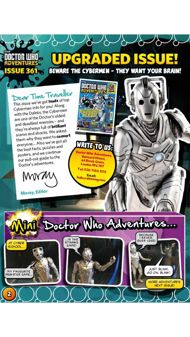 BBC Doctor Who Adventures magazine – for children who love everything about Doctor Who screenshot 2