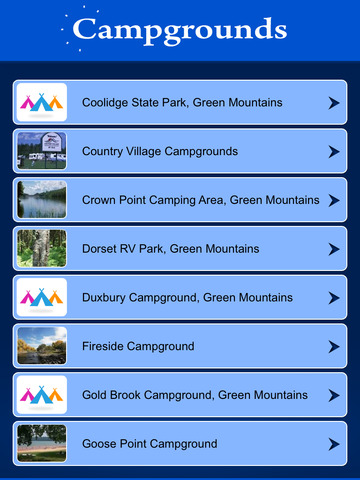 Vermont Campgrounds & RV Parks screenshot 7