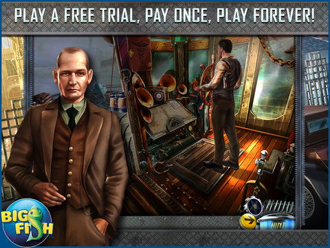 Dead Reckoning: Silvermoon Isle HD - A Hidden Objects Detective Game screenshot 1