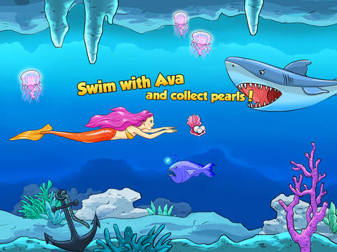 Mermaid Ava and Friends - Ocean Princess Hair Care, Make Up Salon, Dress Up and Underwater Adventures screenshot 9