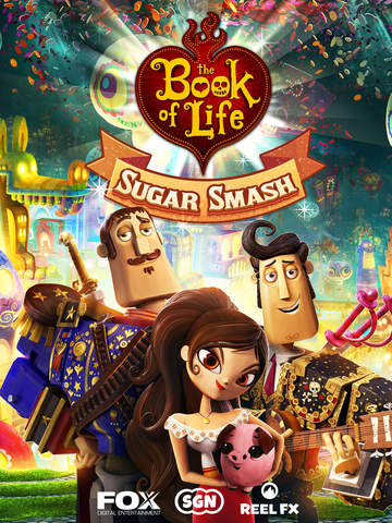 Sugar Smash: Book of Life - Free Match 3 screenshot #5