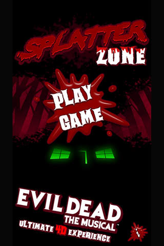 Splatter Zone by Evil Dead The Musical Ultimate 4D - náhled