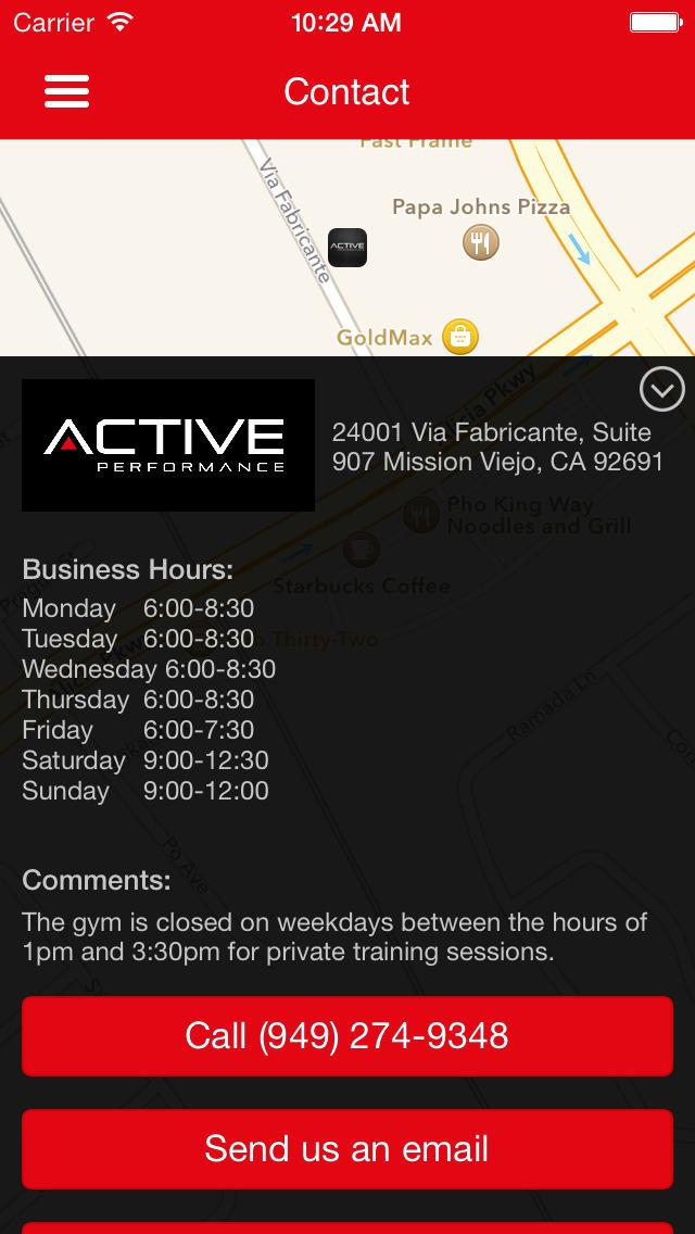 Active Performance screenshot #5
