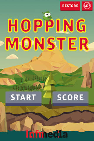 Hopping Monster - Do your best to help your hero t - náhled