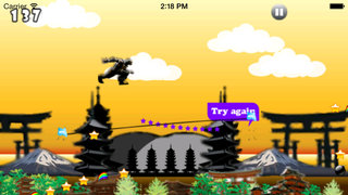 Black Ninja Jumper Pro - Origin of Chaos Clash War screenshot 2