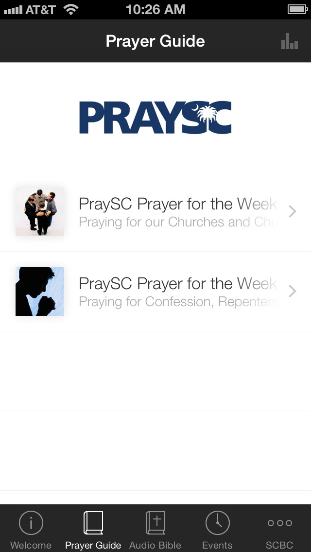 SC Baptist Convention PraySC screenshot 2