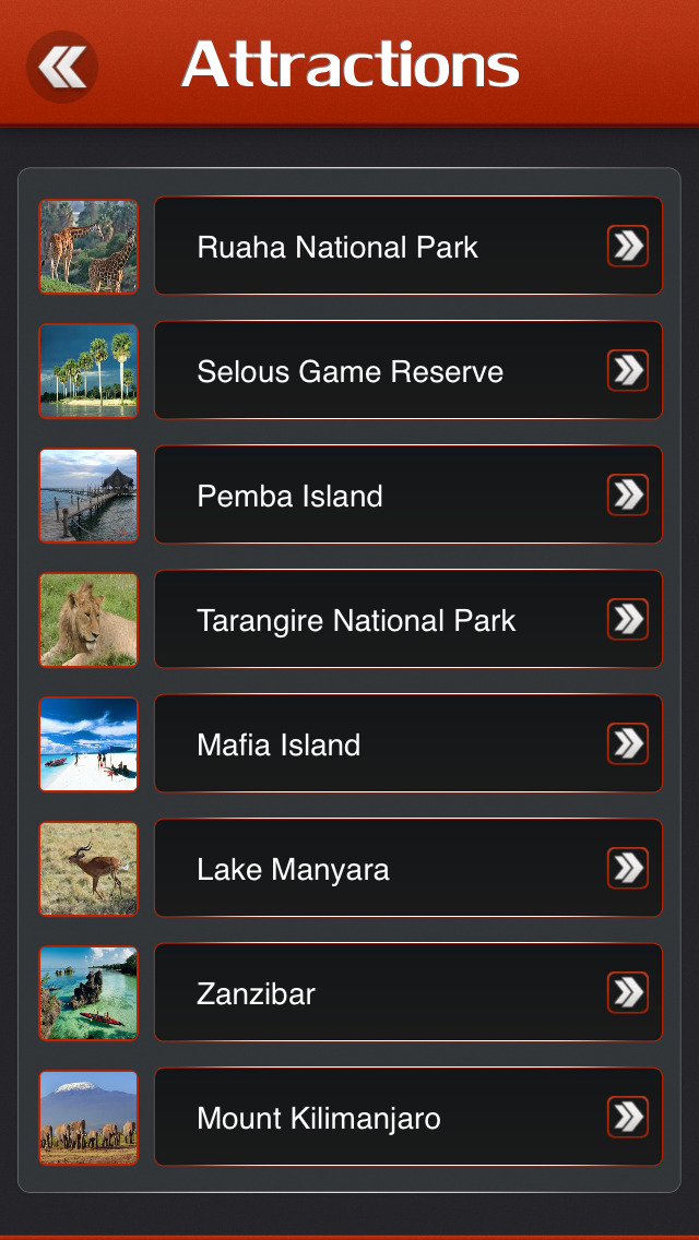 Zanzibar Islands Offline Travel Guide screenshot 3