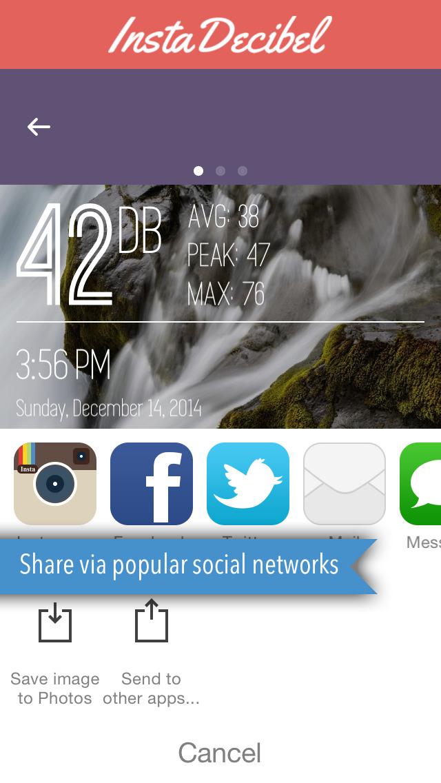 Decibel X: dB, dBA Noise Meter screenshot 5