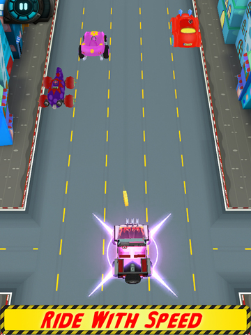 Kids Highway Car Racing screenshot 9