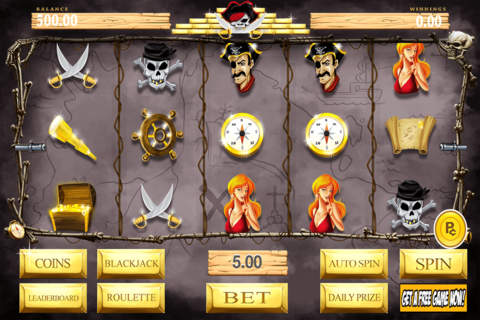 Aces Casino Lucky Pirate's Booty Slots Free - náhled