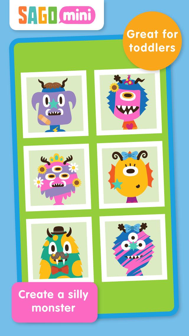 Sago Mini Monsters screenshot 1