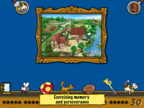 Emil & Pauline in the Country - Hidden Objects for kindergarten, preschool and first grade screenshot 5
