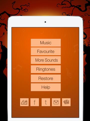 Amazing Scary Halloween Sounds & Spooky Ringtones for iPhone,iPad & iPod screenshot 6