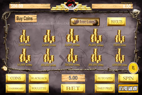 Aces Casino Lucky Pirate's Booty Slots Pro - náhled