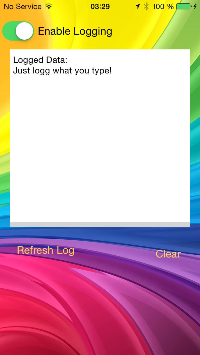 Keyboard Logger screenshot 1