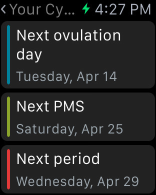 Clue Period & Cycle Tracker screenshot 9