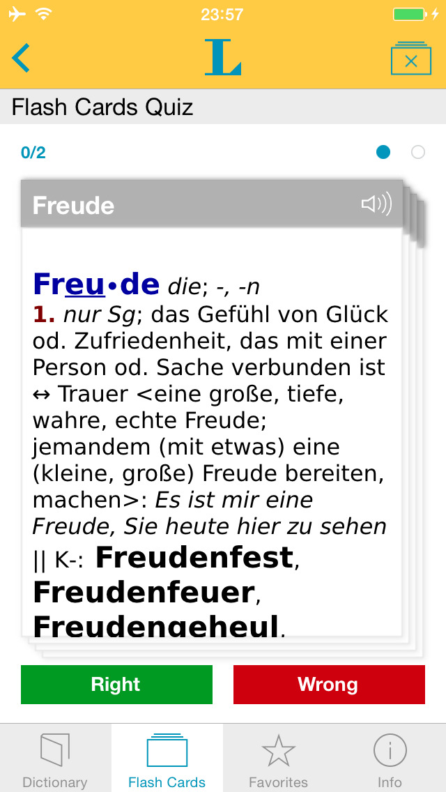 German Learner's Dictionary screenshot 3
