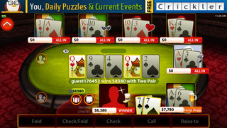 Billionaire Poker - Play Texas Hold'em with Friends or Offline. Become a Star. screenshot 1