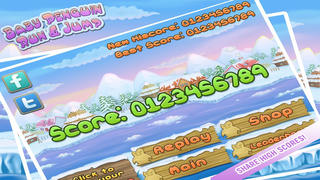 Baby Penguin Run Free - An Endless Action Kids Game screenshot 4