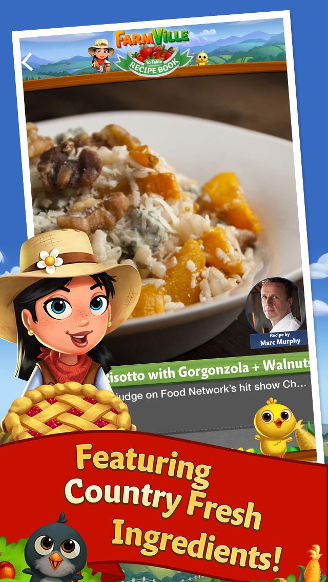 FarmVille to Table Recipe Book screenshot #3