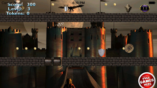 Red Ball Medieval Bouncing PRO : Avoid Spikes screenshot 1
