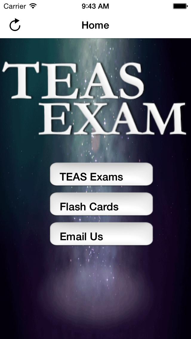 TEAS Nursing Allied Health screenshot 1
