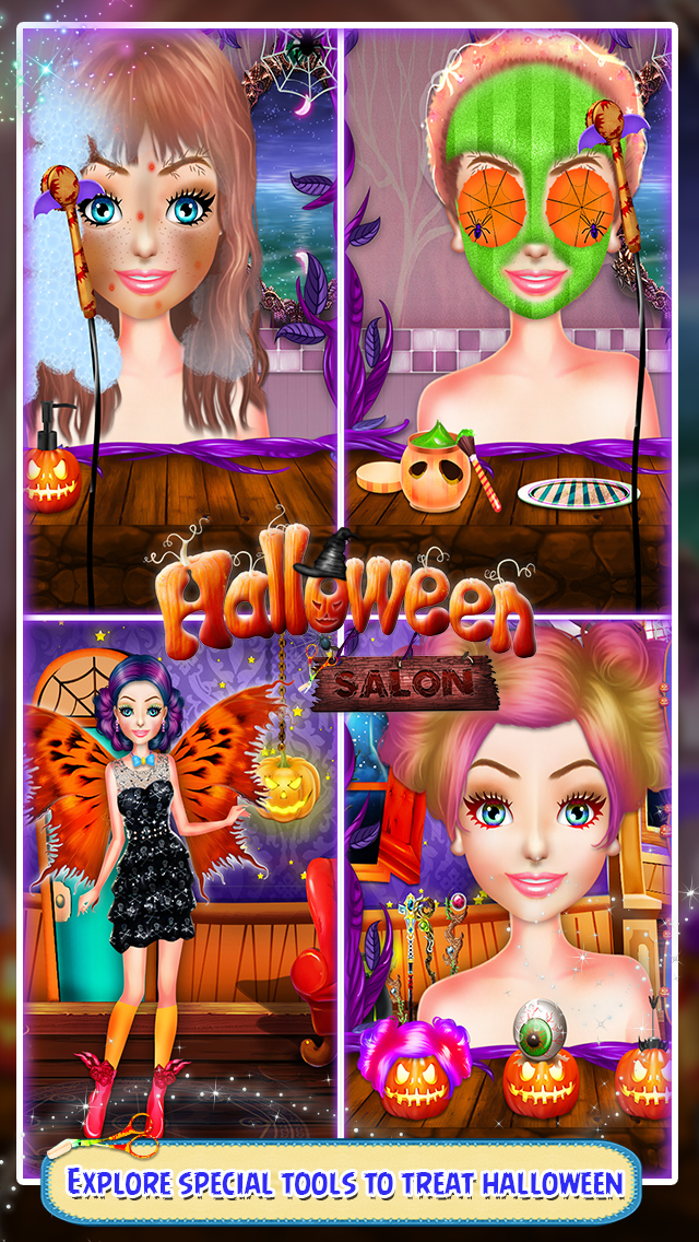 Halloween Salon Game screenshot 1