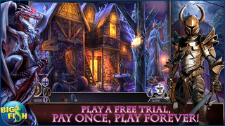 Dark Realm: Queen of Flames - A Mystical Hidden Object Adventure screenshot 1