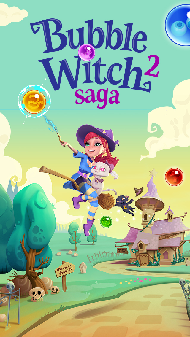 Bubble Witch 2 Saga screenshot 5