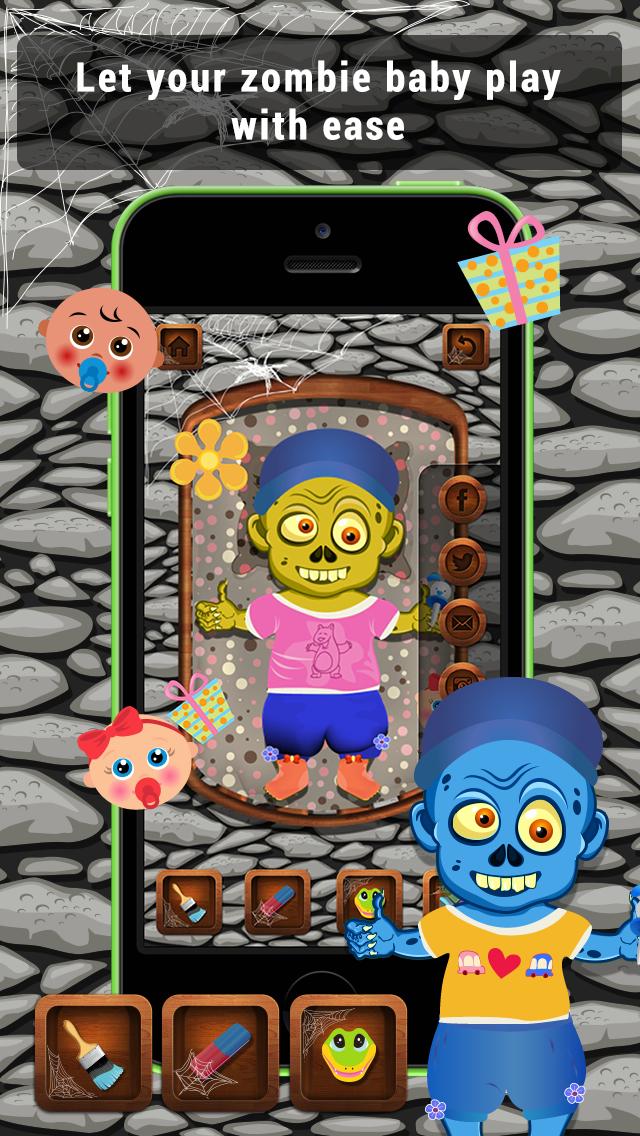 Baby Zombie Care Lite screenshot 3