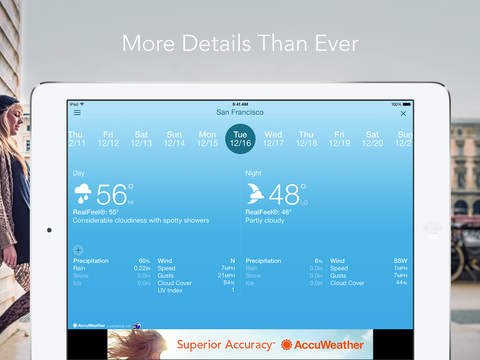 AccuWeather: Weather forecast screenshot 10