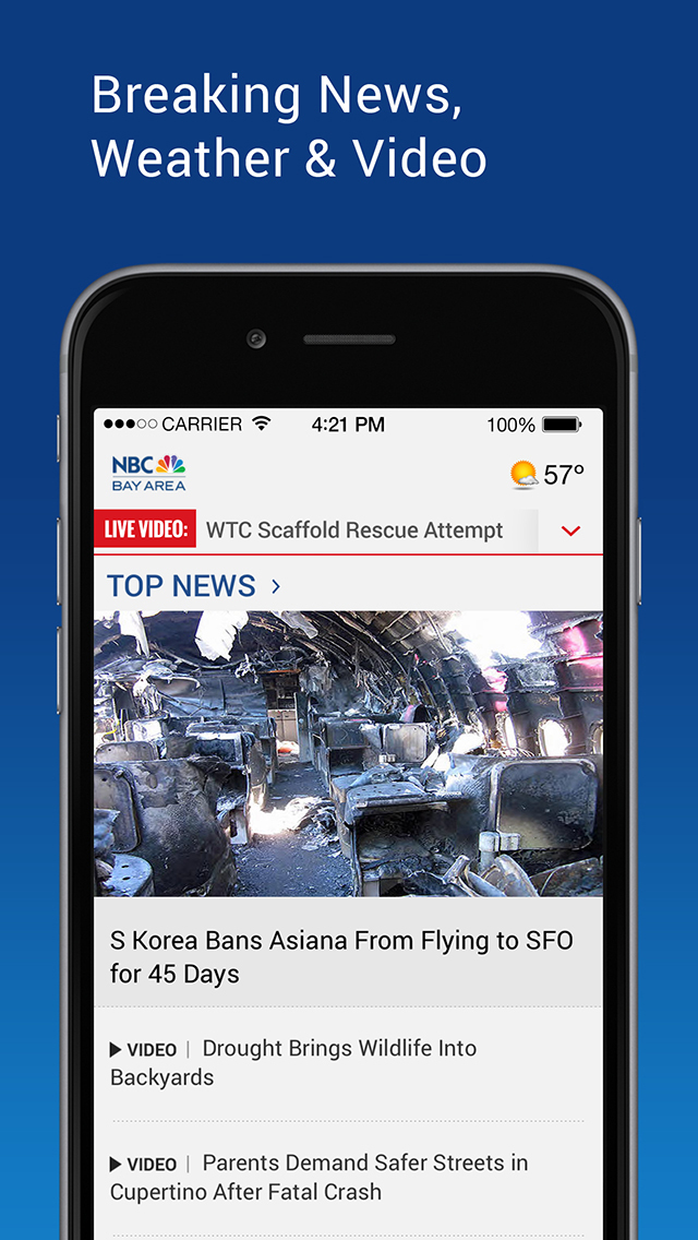 NBC Bay Area: News & Weather screenshot 1
