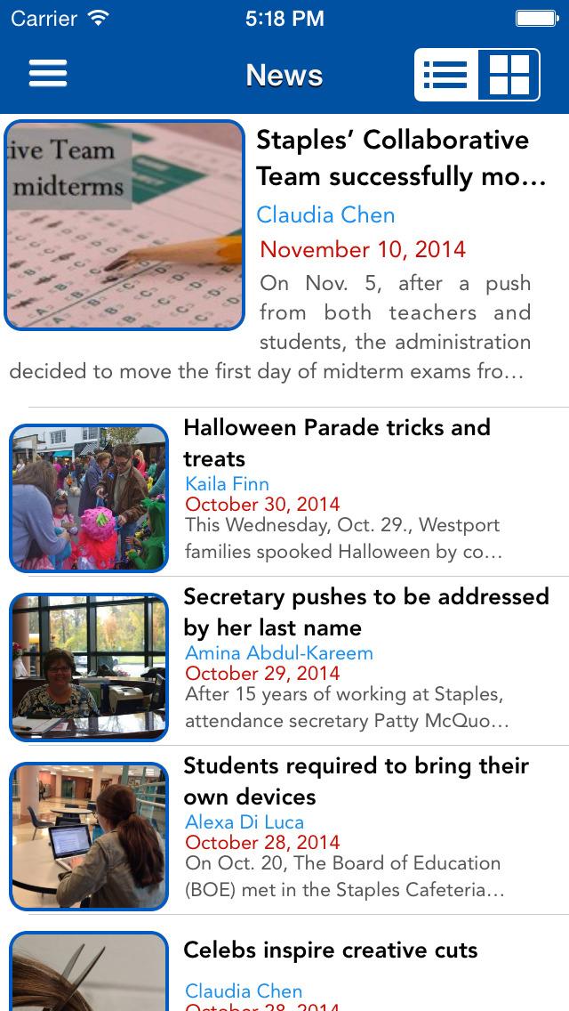 Inklings-News screenshot 1