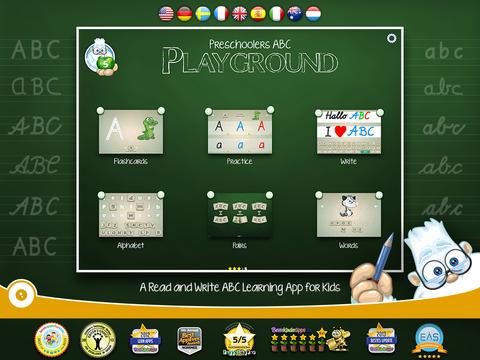 Preschoolers ABC Playground screenshot 5