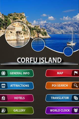 Corfu Island Offline Travel Guide - Travel Buddy - náhled