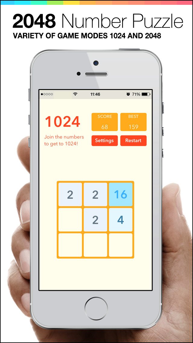 2048 Plus - Mobile Number Puzzle game screenshot 4