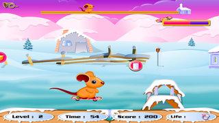 Cute Rat Racing screenshot 1