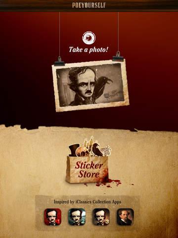 Poe Yourself - Take a photo and enjoy macabre! screenshot 6