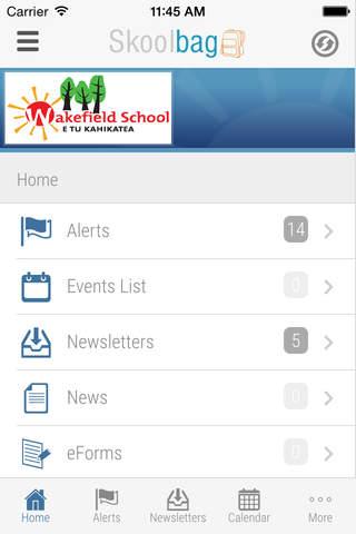 Wakefield School - Skoolbag - náhled
