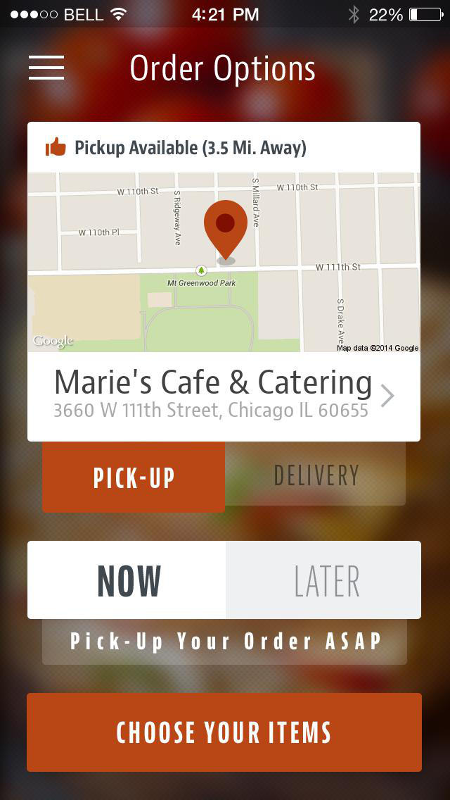 Marie's Cafe & Catering screenshot 2