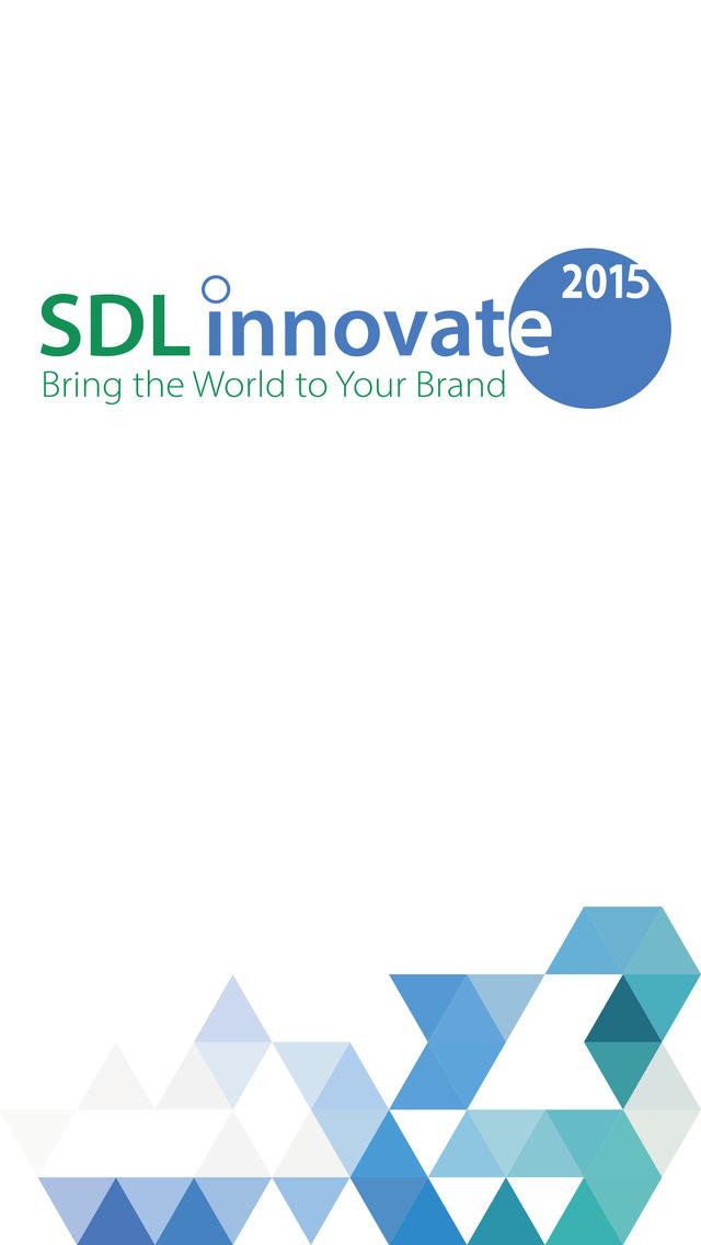 SDL Innovate 2015 Event App screenshot 1