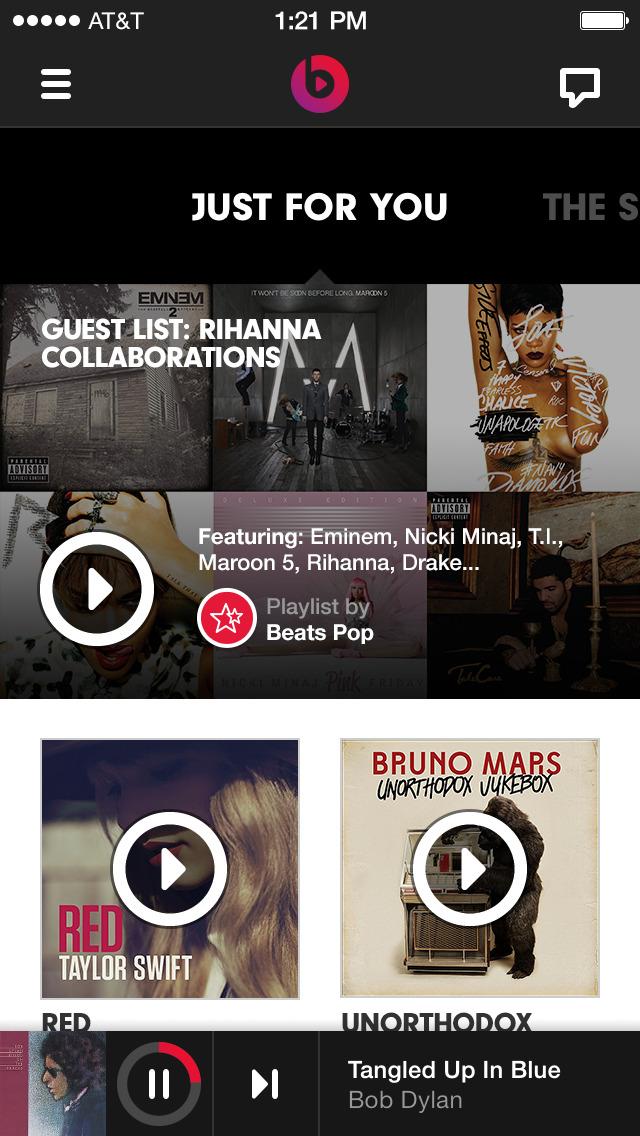 Beats Music screenshot 1
