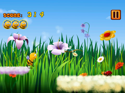Best Bumble Bee Run screenshot 4