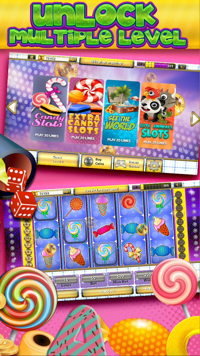 Candy Soda Slots Turbo Journey of Sinners - (Crush it with Master Vegas Jackpot Casino) Free screenshot 5