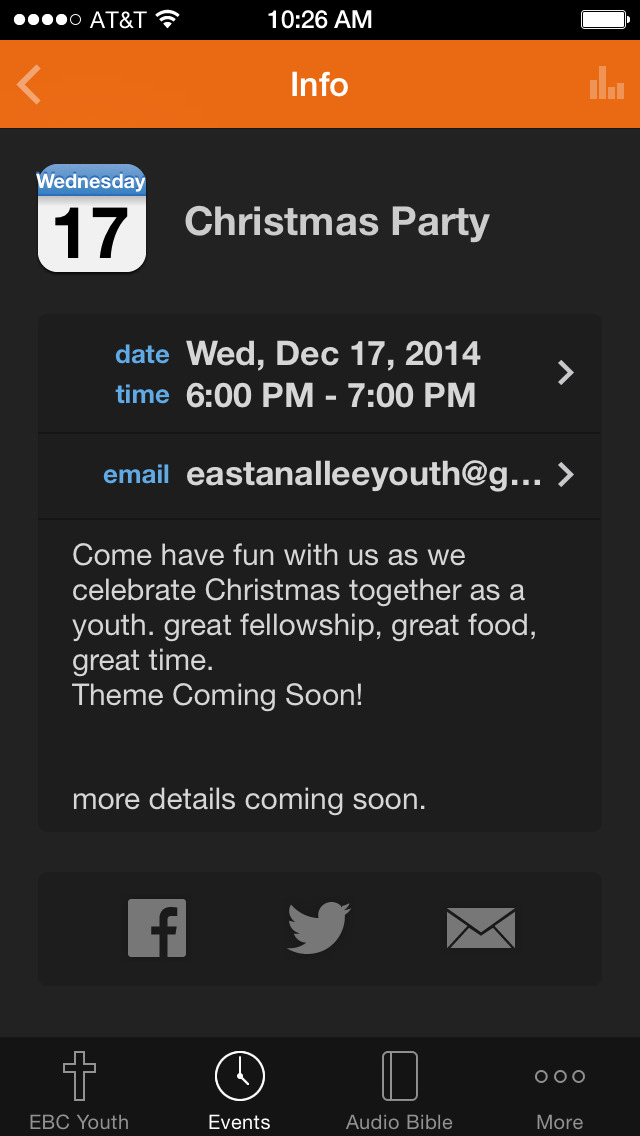 Eastanallee Youth screenshot 2