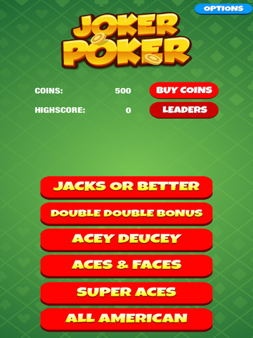 Joker Face Poker screenshot 6