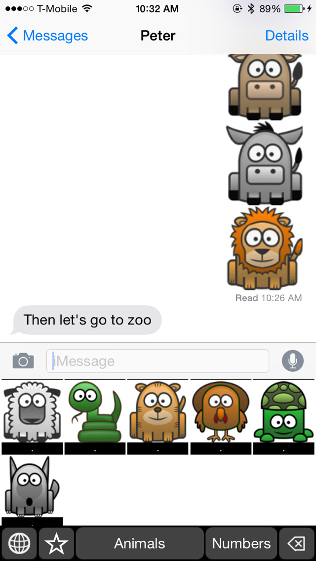 Animal Keyboard Stickers: Chat with Animal Icon on Your Message and more screenshot 5