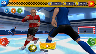 Indoor Soccer 2015: Ultimate futsal football game in beautiful arena by BULKY SPORTS [Premium] screenshot 5